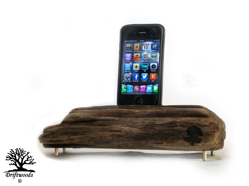 driftwoods ladestationen f r iphone ipad ipod dockingstation ladestation. Black Bedroom Furniture Sets. Home Design Ideas